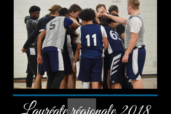 Notre équipe de basket à l'honneur